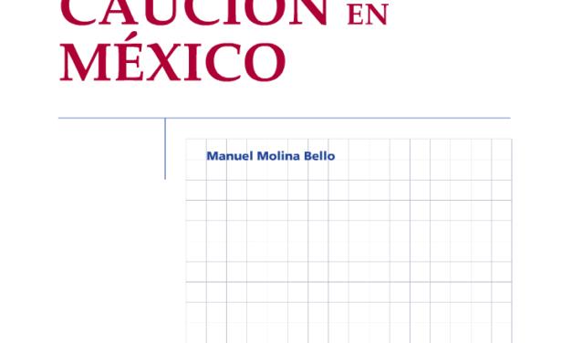 LIBRO EL SEGURO DE CAUCIÓN EN MÉXICO